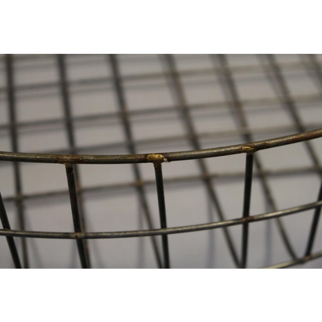 Large Reproduction Wire Basket - Image 3 of 5