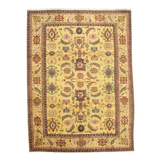 """Pasargad N Y Sultanabad Design Hand-Knotted Rug - 9'0"""" X 12'1"""""""