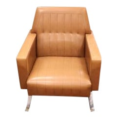 Vintage Mid Century Armchair For Sale