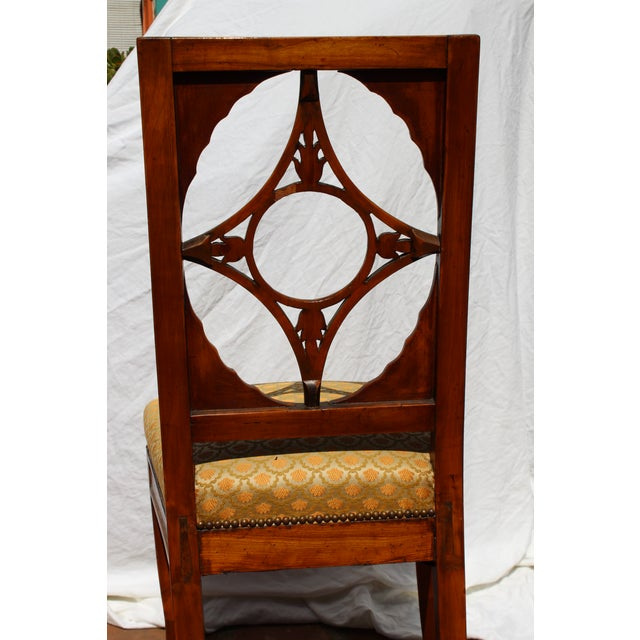 Russian Neoclassical Side Chair For Sale In San Diego - Image 6 of 7
