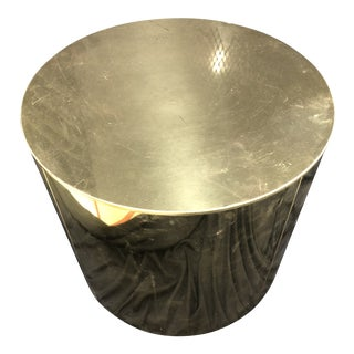 C. Jere Brass Drum Table / Stand For Sale