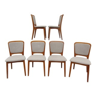 Koefoeds Hornslet Teak Dining Chairs -Set of Six