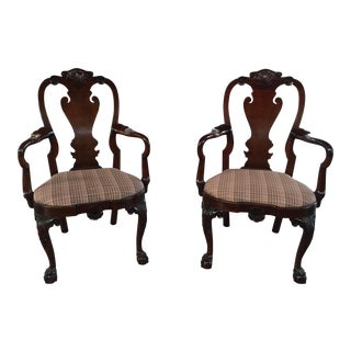 Kindel Armchairs Winterthur Collection a Pair For Sale