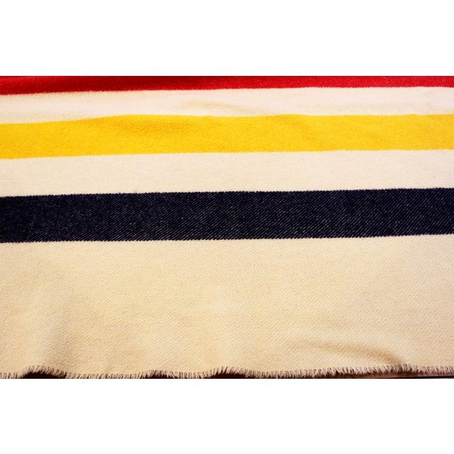 Authentic Hudson Bay 4 Point Vintage Blanket - Image 5 of 6