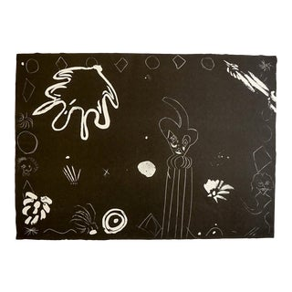 1979 Abstract Lithograph by Russell Vogt For Sale