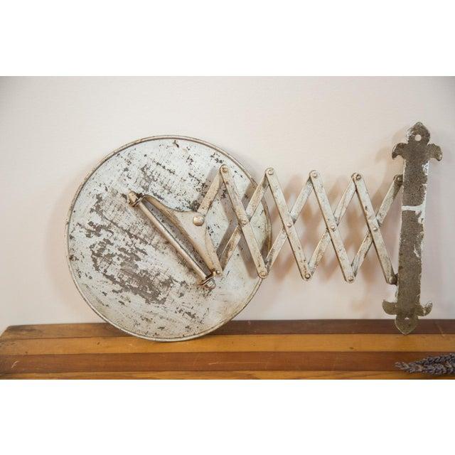 Antique Fleur De Lis Barber Mirror - Image 9 of 11