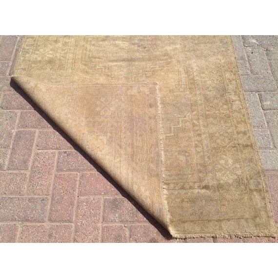 """Vintage Anatolian Rug - 3'8"""" x 6'1"""" For Sale In Raleigh - Image 6 of 6"""