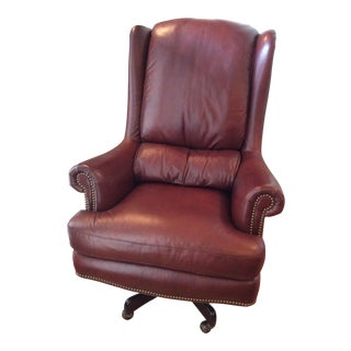 "Hancock and Moore ""Wrenn"" Swivel Tilt Executive Office Chair"