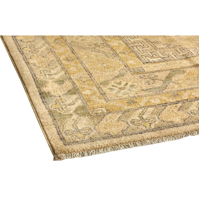 "Traditional Hand-Knotted Area Rug 8' 0"" x 9' 8"" For Sale In New York - Image 6 of 8"