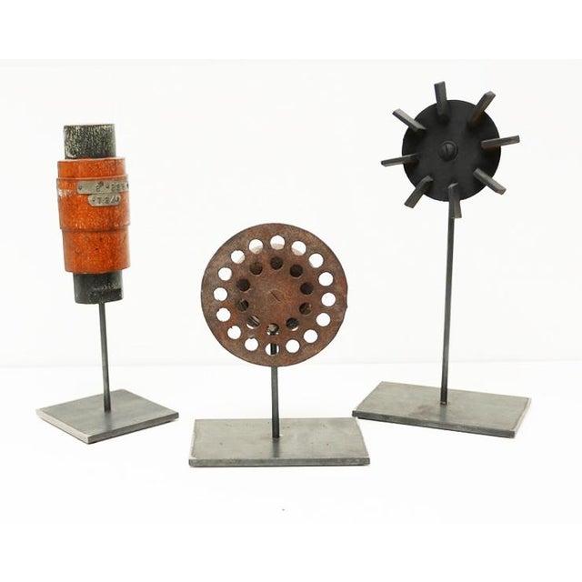 Black Industrial Mold Sculptures - Set of 3 For Sale - Image 8 of 8