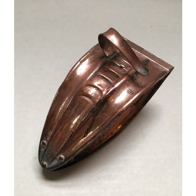 Antique Copper Coal Tongs - Image 5 of 9