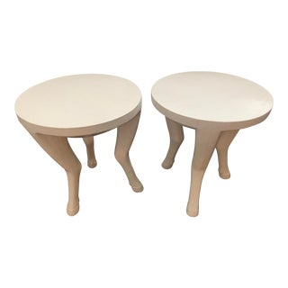 Oly Studio Ari Side Tables Large - A Pair For Sale