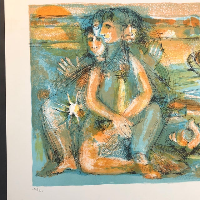 Jean Camberoque (1917-2001) Lithograph in colors 103 of 200 This will be shipped rolled in a tube