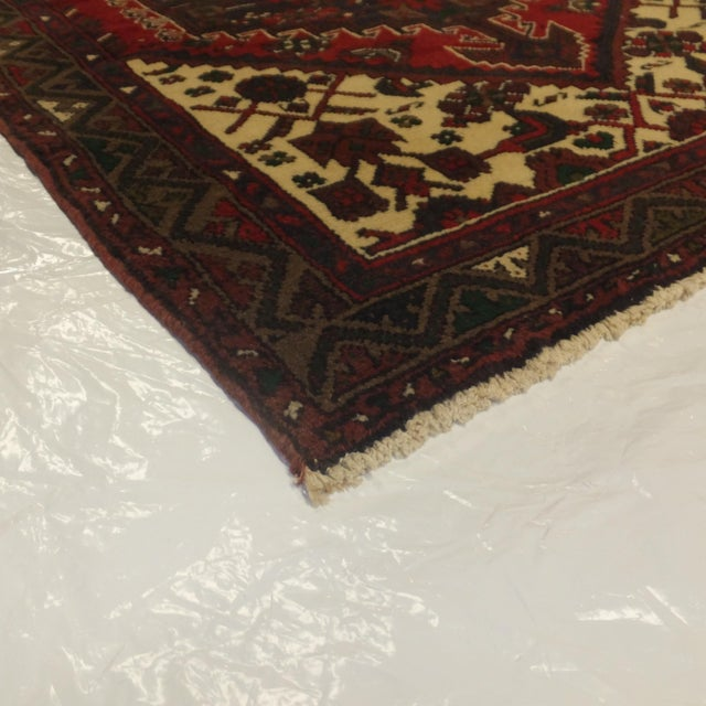 "Leon Banilivi Persian Hamadan Rug - 3'7"" x 5'2"" For Sale In New York - Image 6 of 6"