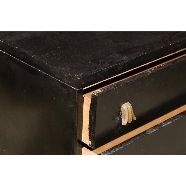 Black Rare Chest by Robsjohn-Gibbings for Widdicomb, Choice of Lacquer Finish For Sale - Image 8 of 10