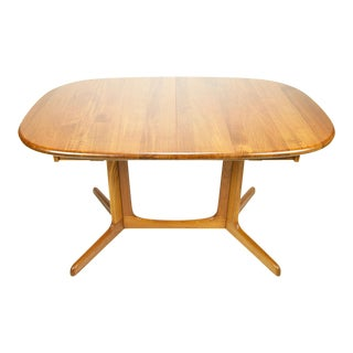 Gudme Mobelfabrik Danish Modern Teak Dining Table For Sale