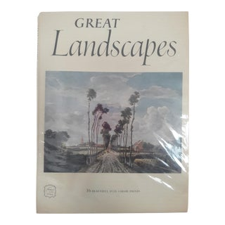 Landscapes Art Book by Harry N. Abrams For Sale