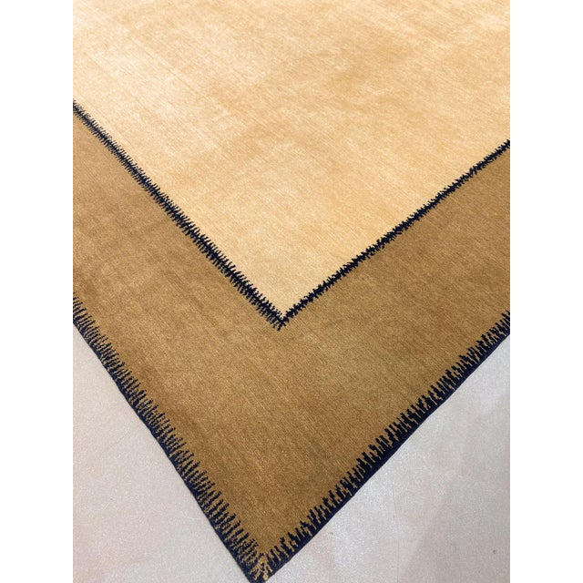 """Vintage Stephanie Odegard Nepalese Carpet, 9'11"""" X 12'2"""" For Sale In Phoenix - Image 6 of 9"""