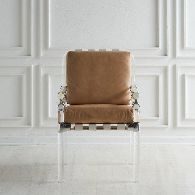 Jeff Messerschmidt Pipeline Series II Chair in Leather For Sale - Image 12 of 12