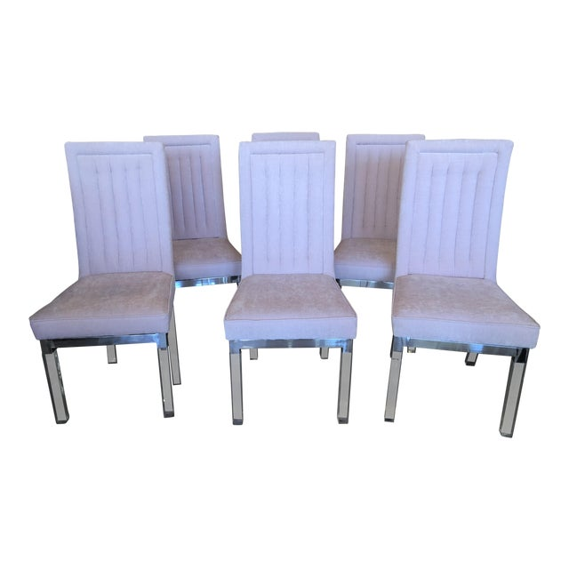 Charles Hollis Jones Lucite Dining Chairs - Set of 6 For Sale - Image 12 of 12