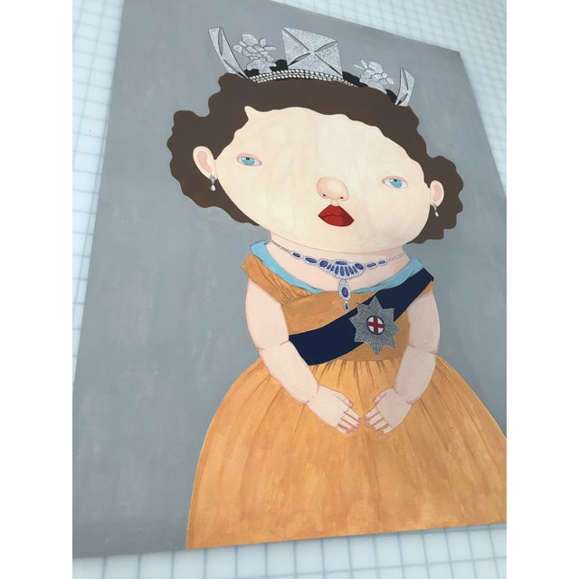 """""""The Last Reigning Queen """" Print by Charles Benton For Sale In New York - Image 6 of 9"""