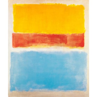 """2003 After Mark Rothko """"Untitled (Yellow, Red, and Blue)"""" Poster For Sale"""