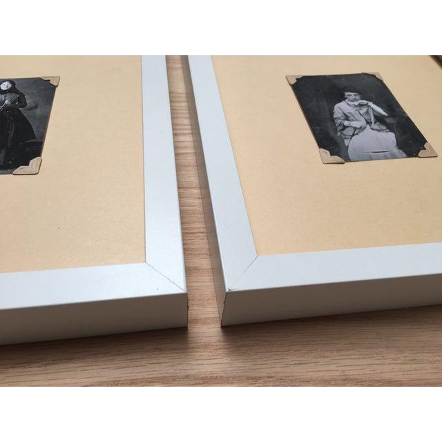 Vintage Framed Daguerreotype Prints - Set of 3 - Image 6 of 7