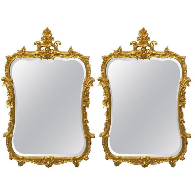 Friedman Brothers Chippendale Console Mirrors - A Pair For Sale - Image 9 of 9