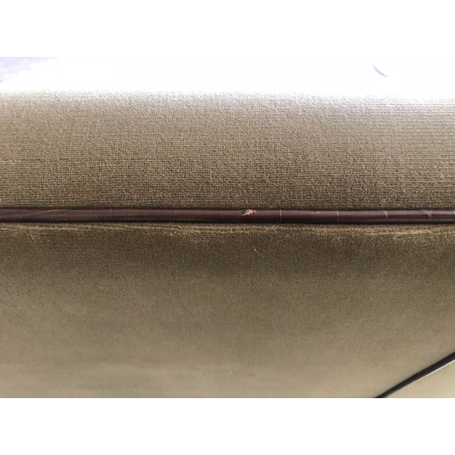Brown Vintage Fendi Highback Sofa For Sale - Image 8 of 11
