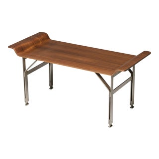 Rare Italian 60s Plywood Stool