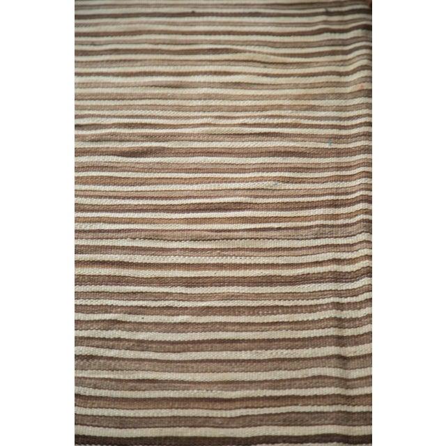 "Vintage Moroccan Kilim Rug - 4'4"" X 6'9"" For Sale - Image 5 of 8"