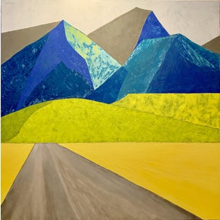 New Mission Creek Road Original Oil Painting For Sale