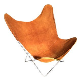 Vintage Mid-Century Butterfly Chair For Sale