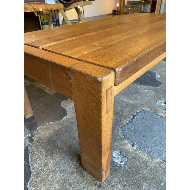 1950s French Coffee Table From Lyon For Sale - Image 9 of 13