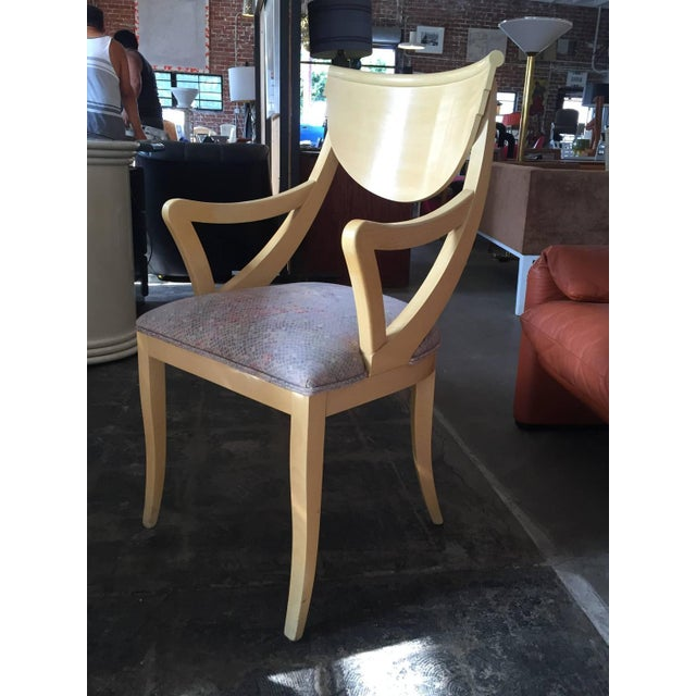 Two Captain & Four Gondola Dining Chairs - Set/6 - Image 5 of 6