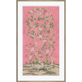 """""""Ditchley Park in Pink"""" By Dana Gibson, Framed Art Print For Sale"""