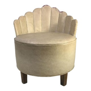Art Deco Barrel Chair Attributed to Gilbert Rohde For Sale