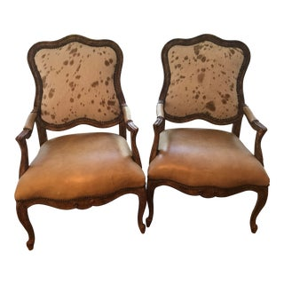 Palomino Side Chairs- A Pair For Sale