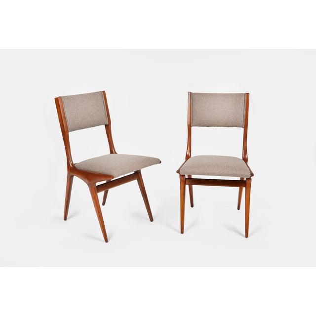 Carlo de Carli Carlo De Carli Mod 158 Dining Chairs, Italy, 1953 - Set of 6 For Sale - Image 4 of 10