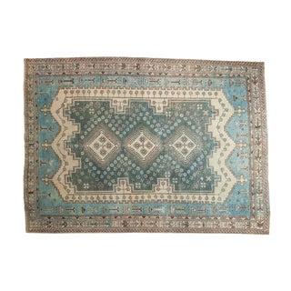 "Vintage Distressed Sirjan Carpet - 5'4"" X 7'4"""