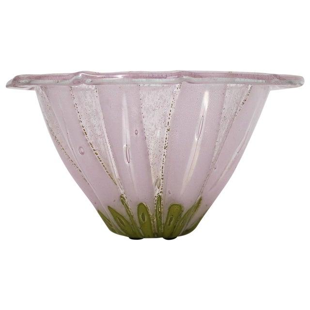 1950s Vintage Higgins Glass Bowl For Sale