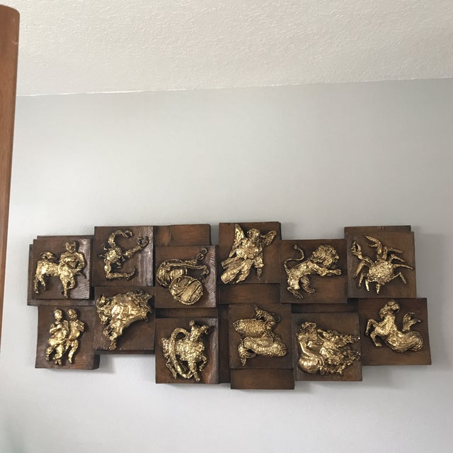 Mid-Century Modern Finesse Originals Zodiac Relief For Sale In Tampa - Image 6 of 6