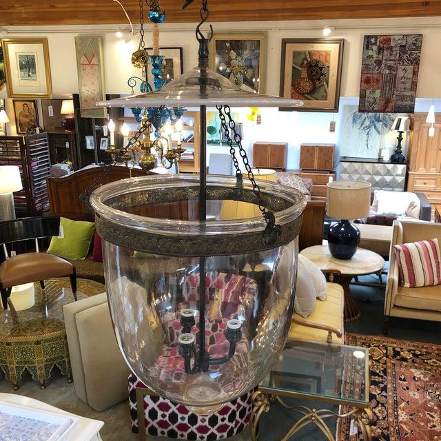 Traditional Vintage Val Saint Lambert Hundi Lantern For Sale - Image 3 of 13