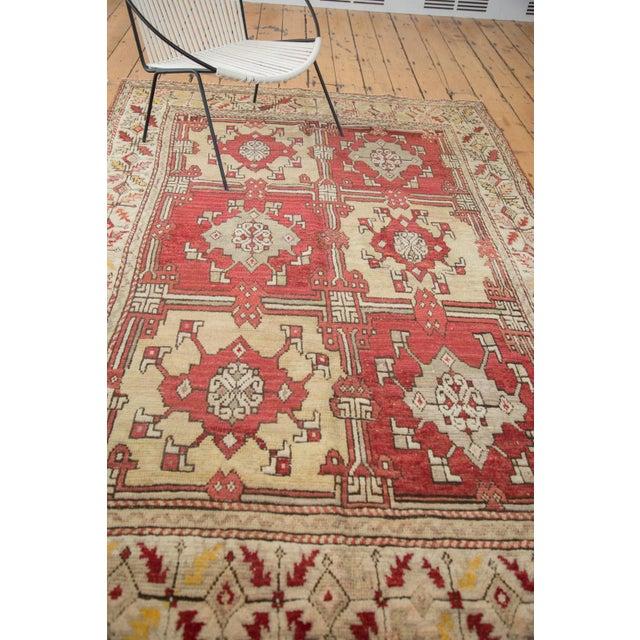 "Vintage Turkish Oushak Carpet - 5'5"" X 8'6"" - Image 5 of 8"