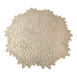Vintage Italian Burano Lace For Sale