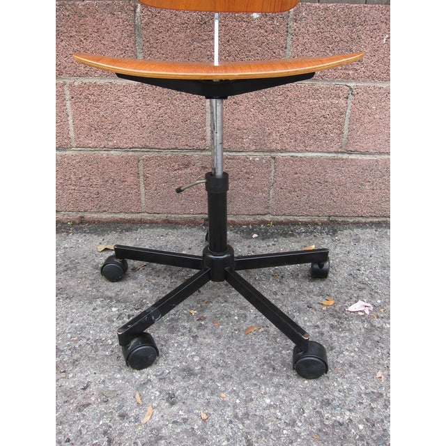 Mid-Century Modern Desk Chair - Image 8 of 8