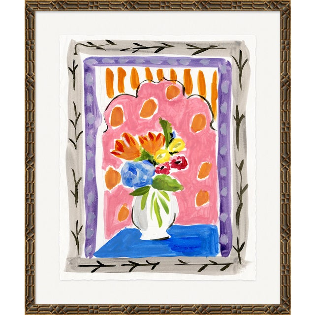 """Contemporary """"Fenestre"""" By Dana Gibson, Framed Art Print For Sale - Image 3 of 3"""