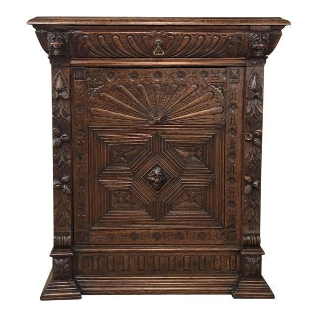 19th Century Flemish Renaissance Cabinet For Sale