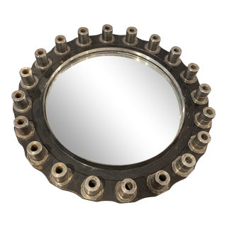 1950s Jet Engine Component Mirror For Sale