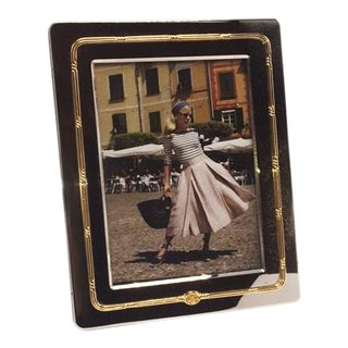 Silver and Gold Gucci Picture Frame, C. 1950